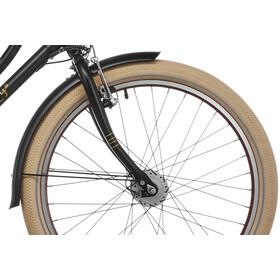s'cool chiX classic 24 3-S Lapset lasten polkupyörä , musta